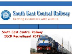 South East Central Railway Recruitment 2019 Apply Online For Group C And D