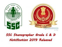 Ssc Stenographer Grade C D Notification 2019 Released Apply Now