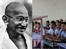 How Did Gandhi Commit Suicide Shocking Gujarat School Exam Question