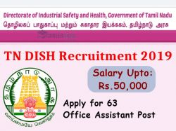 Tn Dish Recruitment 2019 Apply For 63 Office Assistant Post