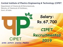 Cipet Recruitment 2019 Application Invited For 34 Assistant And Other Post