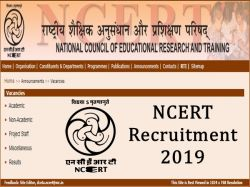 Ncert Recruitment 2019 Apply For 36 Technician Assistant Film Producer Post Now