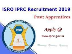 Isro Recruitment 2019 For Apprentices Technical Asst And Other Post