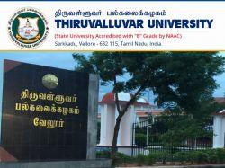 Thiruvalluvar University Recruitment 2019 Apply Online For Professor Assistant Professor