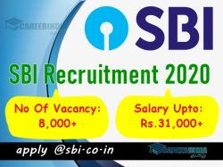 Sbi Clerk Recruitment 2020 Notification Out At Sbi Co In Apply Before January