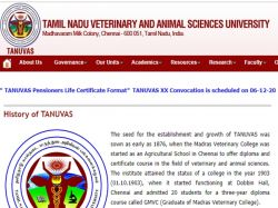 Tanuvas Recruitment 2020 Walk In For 01 Technical Assistant Vacancy