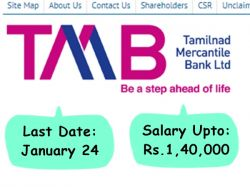Tmb Recruitment 2020 Apply For Gm Dgm Agm And Other Post