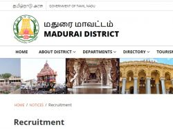 Applications Invited For Office Assistant In Treasury Department Madurai