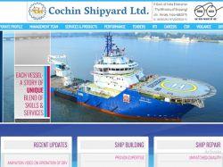Cochin Shipyard Recruitment 2020 Apply Online For Design Assistant Recruitment