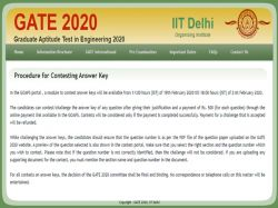 Gate Answer Key 2020 Date Released Check Details Here