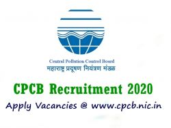 Cpcb Recruitment 2020 Application Invited For Consultant Recruitment