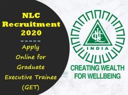 Nlc Recruitment 2020 Last Date Extends For 259 Graduate Executive Trainee Posts