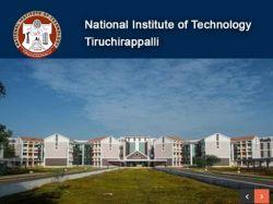 Nit Trichy Recruitment 2020 Apply For Junior Research Fellow Post At Nitt Edu