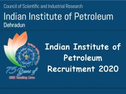 Indian Institute Of Petroleum Recruitment 2020 Apply Online For Project Associate Post