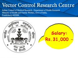 Vcrc Recruitment 2020 Walkin For Project Assistant Post At Vcrc Res In