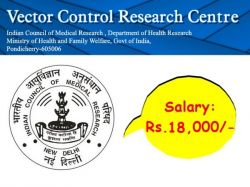 Vcrc Recruitment 2020 Walkin For Project Technician Post At Vcrc Res In