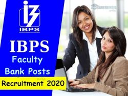 Ibps Recruitment 2020 Apply Online For 02 Faculty Bank Posts Ibps In