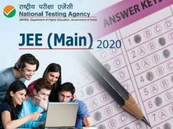 Jee Main 2020 Answer Key Check To Know The Right Answer