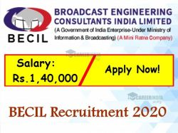 Becil Recruitment 2020 Application Invited For Architect Post