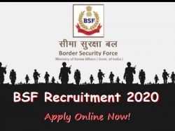 Bsf Recruitment 2020 Notification Released For Sewer Man Post