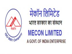 Mecon Limited Recruitment 2020 Apply Online For Junior Executive Post