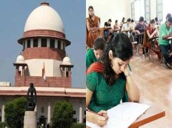 Supreme Court Of India Allowed Neet Exam To Be Held On October