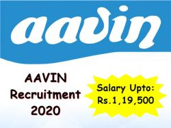 Aavin Recruitment 2020 Apply For Manager Civil Post At Chennai