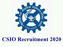 Csio Recruitment 2020 Application Invited For Project Assistant Post