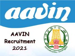 Aavin Recruitment 2021 Apply For Manager P I Post At Tiruppur