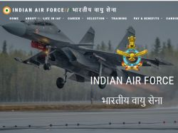 Indian Air Force Recruitment 2020 Post Of Technical Apply Online
