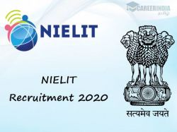 Nielit Recruitment 2020 Scientific Assistant Post Apply Online Here