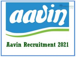Aavin Recruitment 2021 Application Invited For Various Manager Vacancies