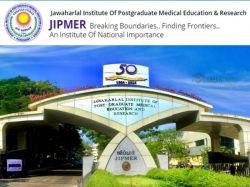 Jipmer Recruitment 2021 Application Invited For Junior Medical Officer Post