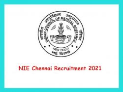 Nie Chennai Recruitment 2021 Walk In For Research Assistant Post