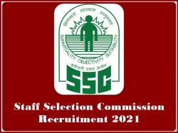 Ssc Recruitment 2021 Apply For Ssc Inspector Of Income Tax Post Apply Here