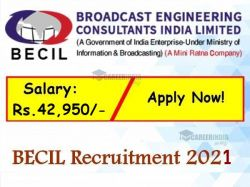 Becil Recruitment 2021 Application Invited For Cssd Technician And Various Post