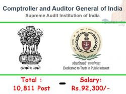 Cag Of India Recruitment 2021 Application Invited For 10 811 Auditor And Accountant Post