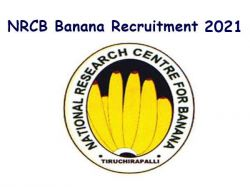 Nrcb Banana Recruitment 2021 Walk In Interview For Young Professional I Post