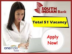 South Indian Bank Recruitment 2021 For Legal Officer Collection Recovery Officers Executives