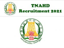 Tnahd Recruitment 2021 Application Invited For Driver Posts At Thoothukudi