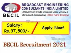 Becil Recruitment 2021 Apply Online For Assistant And Various Post