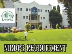 Nirdpr Recruitment 2021 Apply Online For Coordinator Young Fellow And Various Post