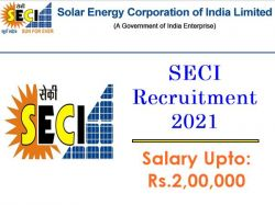 Seci Recruitment 2021 Apply Online For Manager Senior Officer And Other Post