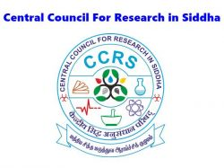 Siddha Council Recruitment Ccrs 2021 Walk In For Consultant Research Associate Post