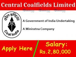 Coal India Limited Recruitment 2021 Apply For Manager Post