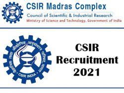 Csir Recruitment 2021 Apply Online For Project Associate Post