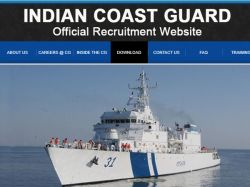 Indian Coast Guard Recruitment 2021 Application Invited For Foreman Of Stores Post