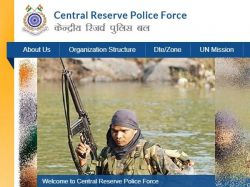 Crpf Recruitment 2021 Walk In For For Headmistress Teachers And Ayah Post At Crpf