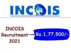 Incois Recruitment 2021 Apply Online For Scientist B Post