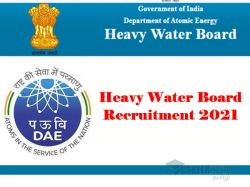 Heavy Water Board Recruitment 2021 Application Invited For Junior Translation Officer Post